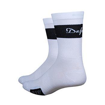 "DEFEET CYCLISMO 5"" TRICO WHITE/BLACK SOCK"