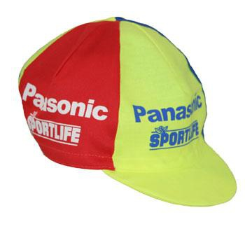 RETRO CAP PANASONIC BLUE/YELLOW