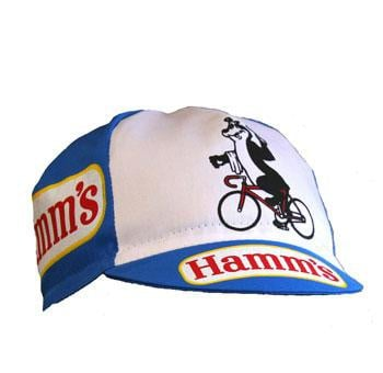 Bella Capo Cycling Cotton Cap Hamm's