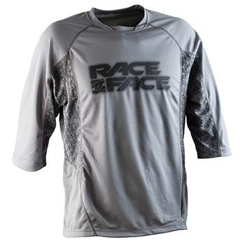 Race Face Ambush Jersey 3/4 XXL GRAVEL