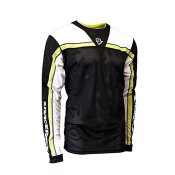 RACE FACE STAGE JERSEY LS BLACK/LIME