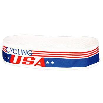 "PACE COOLMAX 2"" CYCLING USA HEADBAND"