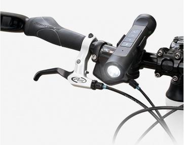 CM Bikin Bluetooth Bicycle Speaker LED Light Built in 2200mAh