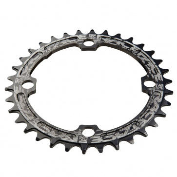 RACE FACE SINGLE RING 104mm 38T 8-11-SPEED BLACK