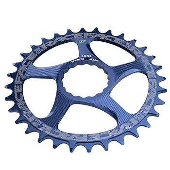Race Face Clinch Direct Mount 34T 10-11-SPEED Blue