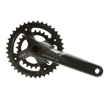 Sram X.5 GXP 2x10SP Fat Bike Crankset 175mm 36-22T no BB