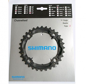 SHIMANO FC-M760 XT 32T 104BCD 9-SPEED BLACK