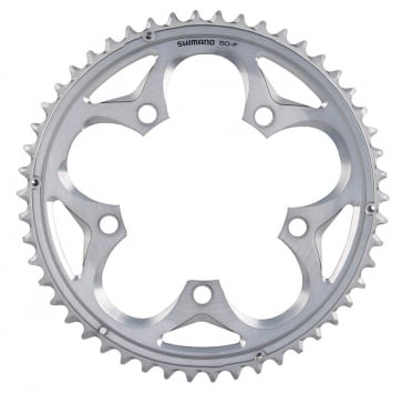 SHIMANO FC-5750 105 50T 110BCD 10-SPEED SILVER