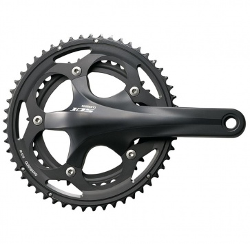 SHIMANO FC-5750 105 165 50/34T 10-SPEED BLACK w/o BB