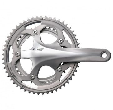 SHIMANO FC-5750 105 165 50/34T 10-SPEED SILVER w/o BB