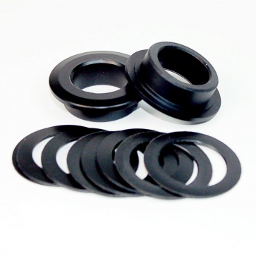 WHEELS MFG 386EVO TO SRAM 24/22mm CRANK SPINDLE SHIMS