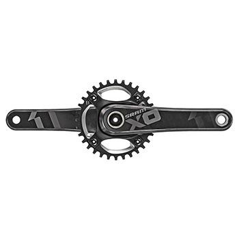 Sram X01DH BB3083 94BCD 32T Crankset Black 165mm No BB