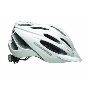 Cratoni C Blaze White Silver Helmet Unisize