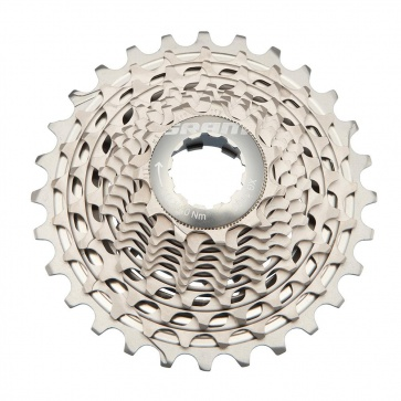 SRAM XG1190 11-28T X-DOME RED22 11-SPEED CASSETTE
