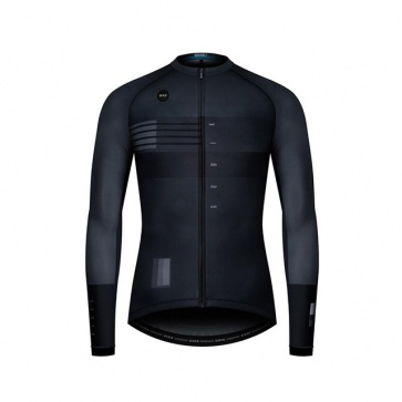 GOBIK CX Pro Unisex Long Sleeves Jersey Black Shade 4 Season