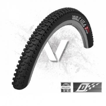 Velotto Double Axe V2 Clincher Folding Tire Black