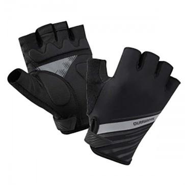 Shimano Half Finger Gloves Women's Black