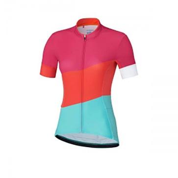 Shimano Sumire Womens Short Sleeves Cycling Jersey