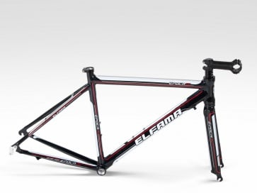 Elfama Epoca Road bike Frame Fork Alloy 700C black 5sized