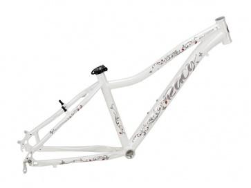 "Elfama Racy Womens Mountain Bike Frame White 26"" 1500g"