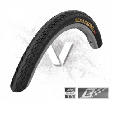 Velotto Setia Racing Epic V2 Clincher Folding Tire Black