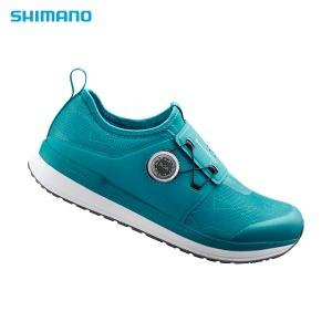 Shimino Cycling Shoes SH-IC300 (Women Green Indoor)