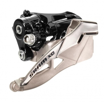 SRAM X0 FRONT DERAILLEUR 2x10 LOW-CLAMP BOTTOM PULL 31.8/34.9 38/36T