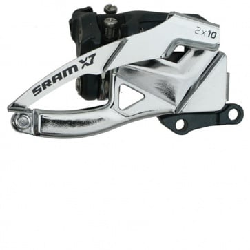 SRAM X.7 FRONT DERAILLEUR 2x10 LOW DIRECT MOUNT DUAL PULL S3 39T