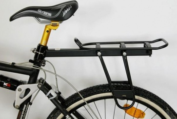 BICYCLE HERO SEAT POST INSTALLING REAR RACK WITH QR LEVER