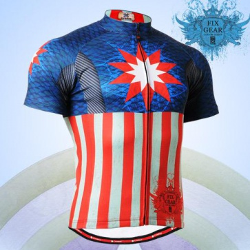 Fixgear Bicycle Cycling Mens Jersey Short Sleeves CS3702