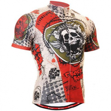 Fixgear Bicycle Cycling Mens Jersey Short Sleeves CS502