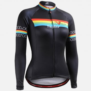 Fixgear CS-W201 Womens Cycling Jersey Long Sleeves
