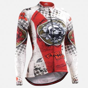 Fixgear CS-W501 Womens Cycling Jersey Long Sleeves