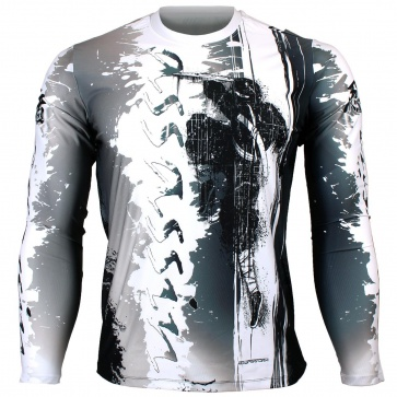 Btoperform Assassin Full Graphic Loose-fit Long Sleeve Crew neck Shirts FR-150