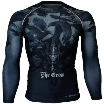 Btoperform Crow Full Graphic Compression Long Sleeve Shirts FX-137