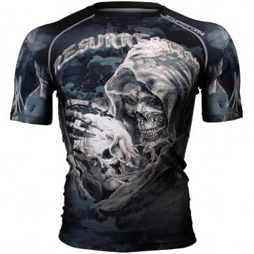 Btoperform Resurrection Full Graphic Compression Short Sleeves Shirts FX-309
