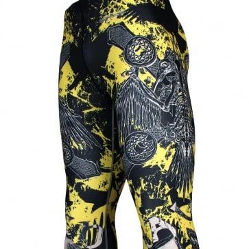 RAVEN [FY-125] Full graphic compression leggings