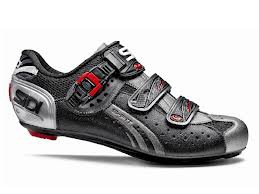 Sidi Genius5 Fit Road Bike Cycling Shoes Mega Black Titanium
