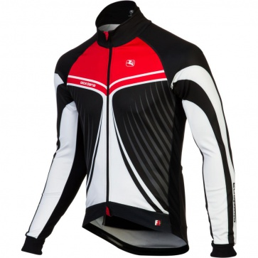 Giordana FR-C Trade Cycling Jacket Wings Red