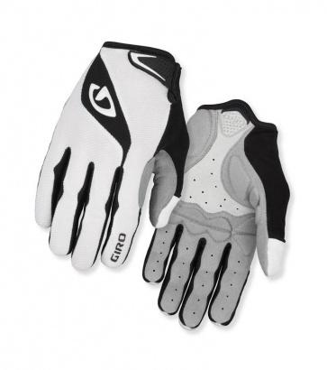 Giro Bravo LF Bicycle Cycling Gloves Long Fingers White Black