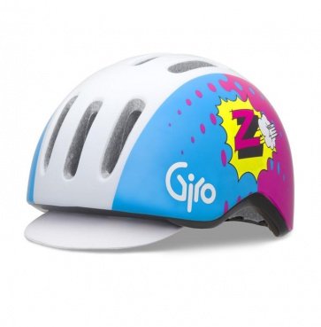 Giro Reverb Urban Cycling Helmet Blue Pink Z Team