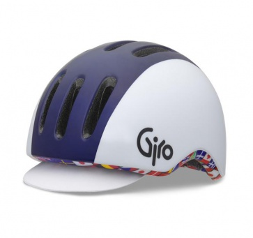 Giro Reverb Urban Cycling Helmet Blue White Flag