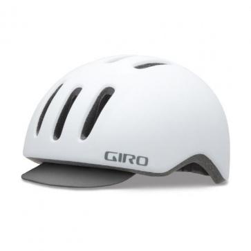 Giro Reverb Urban Cycling Helmet Matt White Grid