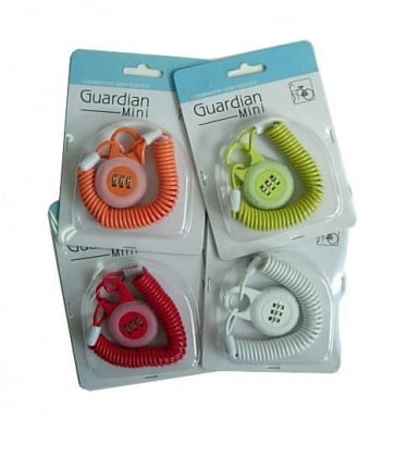 Guardian cable lock Mini 3mmx1.8M 4colors