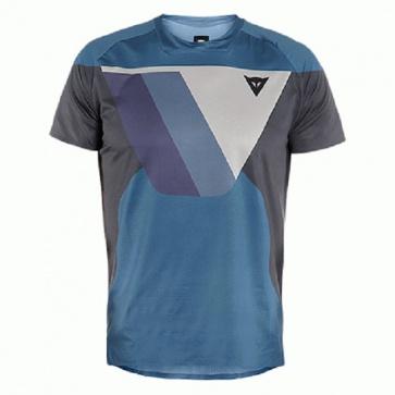 DAINESE Short Sleeves Shirt HG KAINDY SS Blue Dark Gray