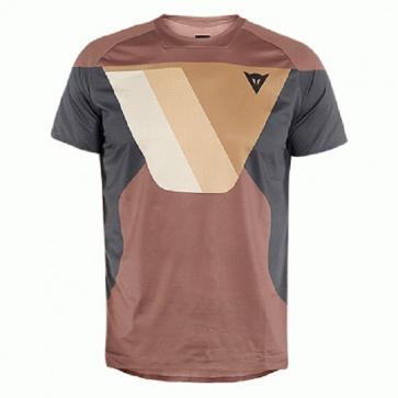 DAINESE Short Sleeves Shirts HG KAINDY SS Dark Sand Dark Grey