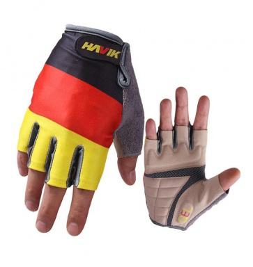 Havik 313 Flag Germany Half Finger Cycling Gloves