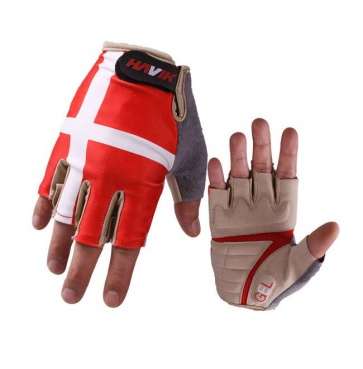 Havik 315 Flag Switzerland Half Finger Cycling Gloves