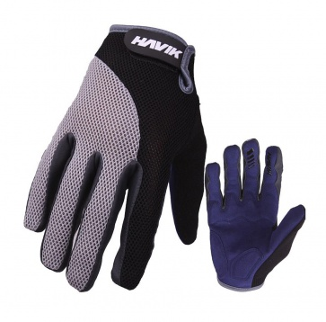 Havik 501 Mashfull Cycling Gloves Black Gray