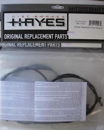 Hayes Sole Stroker Ryde Front Hose Kit 98-17752